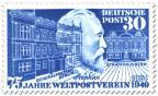 Briefmarke: Heinrich von Stephan - Begründer des Weltpostvereins