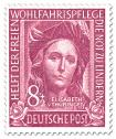 Briefmarke: Elizabeth von Thüringen (Wohlfahrtsmarke)