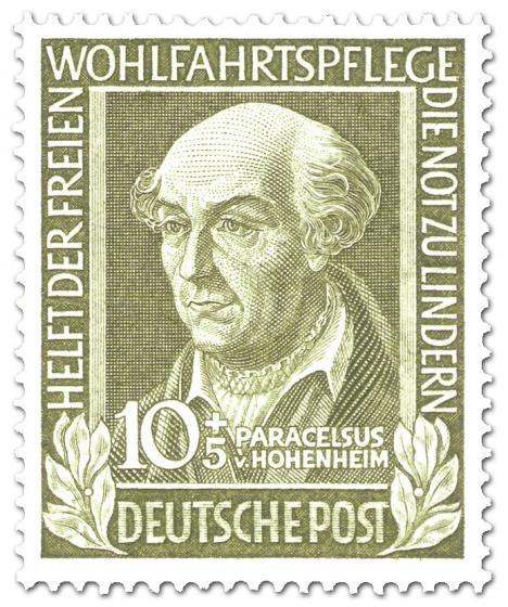 Briefmarke: Paracelsus von Hohenheim (Wohlfahrtsmarke)