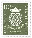 Briefmarke: 200 Todestag von Johann Sebastian Bach (10+2)