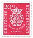 Briefmarke: 200. Todestag des Komponist J. S. Bach (20+3)