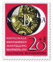 Briefmarke: Nationale Briefmarkenausstellung in Wuppertal (20+3)