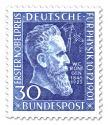 Briefmarke: Wilhelm Conrad Röntgen (50. Jahrestag Nobelpreis)