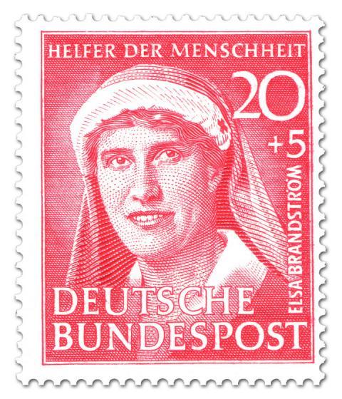 Briefmarke: Elsa Brändström (Krankenschwester)