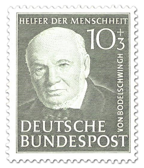 Briefmarke: Theologe Friedrich von Bodelschwingh