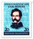 Briefmarke: General Carl Schurz (amerikanischer Staatsmann)