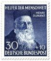 Briefmarke: Henri Dunant (Gründer vom Roten Kreuz)