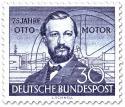 Briefmarke: Nikolaus Otto - Erfinder des Ottomotors