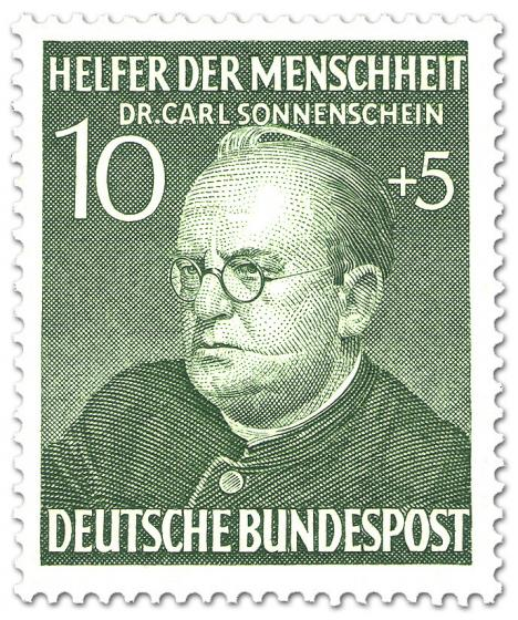 Briefmarke: Carl Sonnenschein (Theologe)