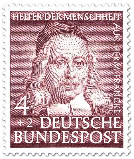 Briefmarke: August Hermann Francke (Theologe)