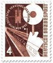 Briefmarke: Bahn - Verkehrsausstellung München