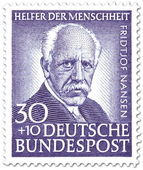 Briefmarke: Fritjof Nansen (Polarforscher, Zoologe)