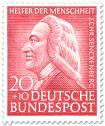 Briefmarke: Johann Christian Senckenberg (Arzt)
