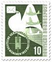 Briefmarke: Luftpost - Verkehrsausstellung München