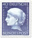 Briefmarke: Bertha Pappenheim (Frauenrechtlerin)