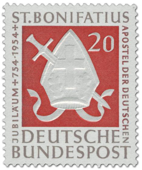 Briefmarke: St. Bonifatius (Apostel der Deutschen)