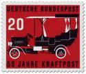 Briefmarke: 50 Jahre Kraftpost, Oldtimer