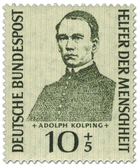 Briefmarke: Adolph Kolping Kath (Priester)