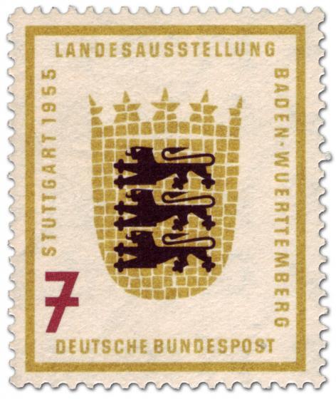 Briefmarke: Baden Württemberg Wappen (7)