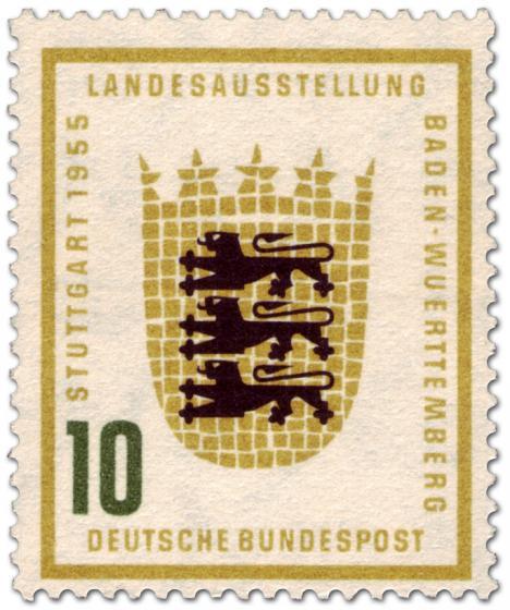 Briefmarke: Baden Württemberg Wappen (10)