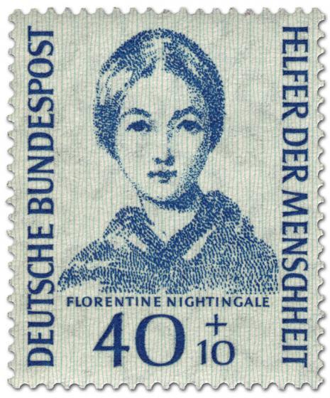 Briefmarke: Florentine Nightingale (Krankenschwester)