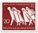 Briefmarke: Heimatvertriebene (10 Jahre Vertreibung)