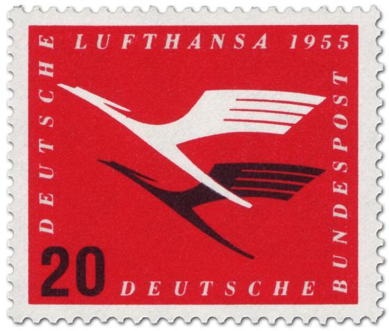 Briefmarke: Lufthansa Logo Kranich (20)