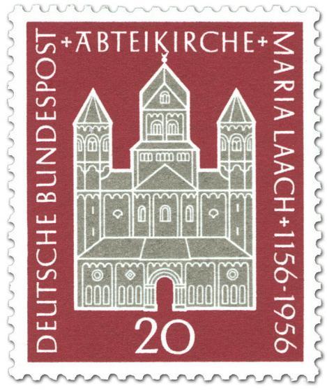 Briefmarke: 800 Jahre Abteikirche Maria Laach