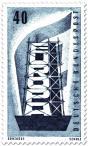 Briefmarke: Europamarke (Gerüst und Fahne), 20