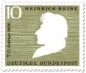 Briefmarke: Heinrich Heine (Dichter)
