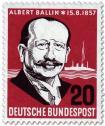 Briefmarke: Albert Ballin (Reeder)