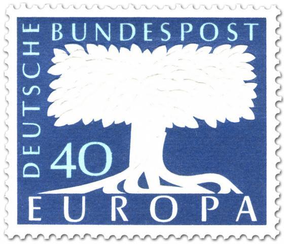 Briefmarke: Europamarke Baum (40)