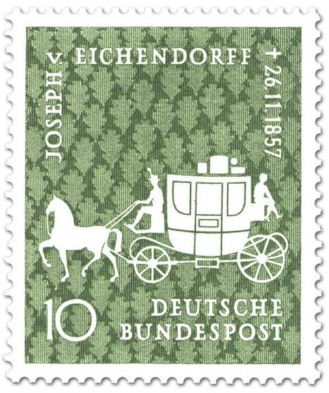 Briefmarke: Joseph von Eichendorff (Dichter)