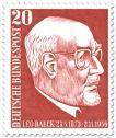 Briefmarke: Leo Beack (Rabbiner)