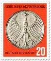Bundesadler Geldmünze (5 D-Mark)