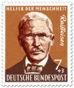 Briefmarke: Friedrich Wilhelm Raiffeisen (Sozialreformer und Kommunalbeamter)
