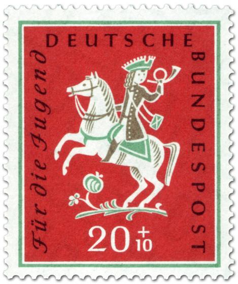 Briefmarke: Ein Jäger aus Kurpfalz (Kinderlied)