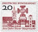 Briefmarke: Marktplatz 1000 Jahre Trier