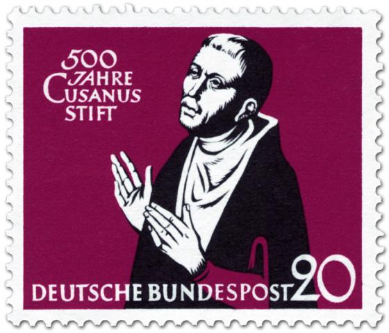Briefmarke: Nikolaus von Cues (500 Jahre Cusanusstift)