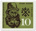 Briefmarke: Adam Riese (Mathematiker, Rechenmeister)