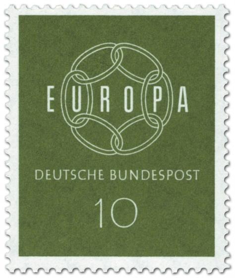 Briefmarke: Europamarke 1959 - Kette (10)
