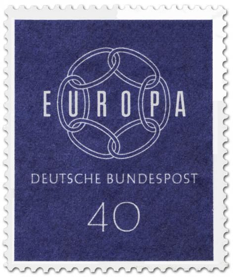 Briefmarke: Europamarke 1959 - Kette (40)