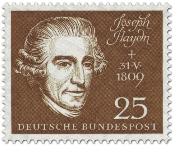 Briefmarke: Joseph Haydn (Komponist)