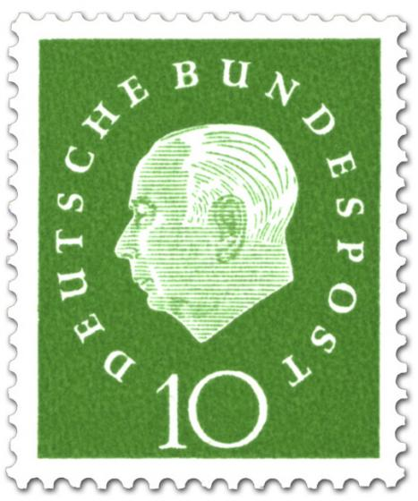 Briefmarke: Theodor Heuss (10)