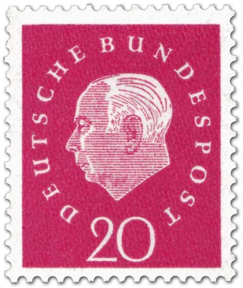 Briefmarke: Theodor Heuss (20)