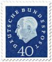 Briefmarke: Theodor Heuss (40)