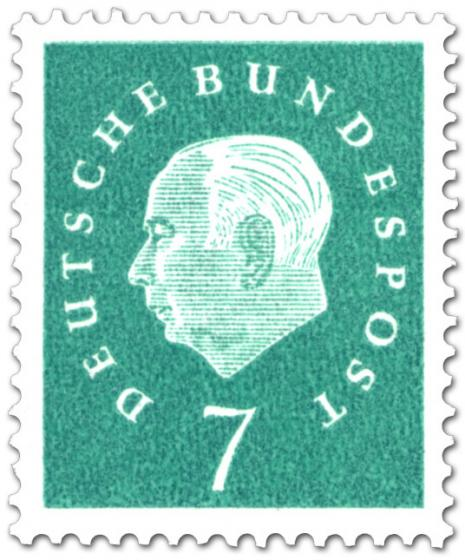 Briefmarke: Theodor Heuss (7)