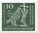 Briefmarke: Eucharistischer Weltkongress München (Taube, Kelch und Kreuz) 10