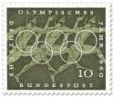Briefmarke: Läufer (Olympisches Jahr 1960)