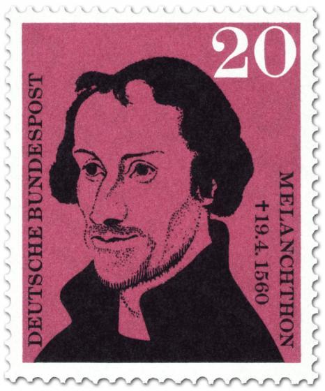 Briefmarke: Philipp Melanchton (Theologe, Humanist)